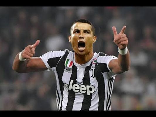 Ronaldo en la Juventus