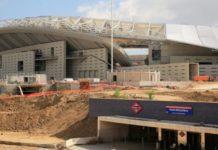 El Atlético de Madrid no tendrá Metro al comienzo de la Liga.