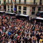 Ser policía en Cataluña, una profesión de alto riesgo.