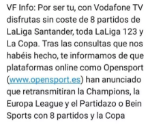 Vodafone OpenSport