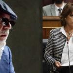La minustra Dolores Delgado y el comisario Villarejo