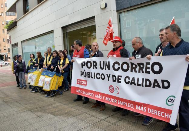 Huelga Correos