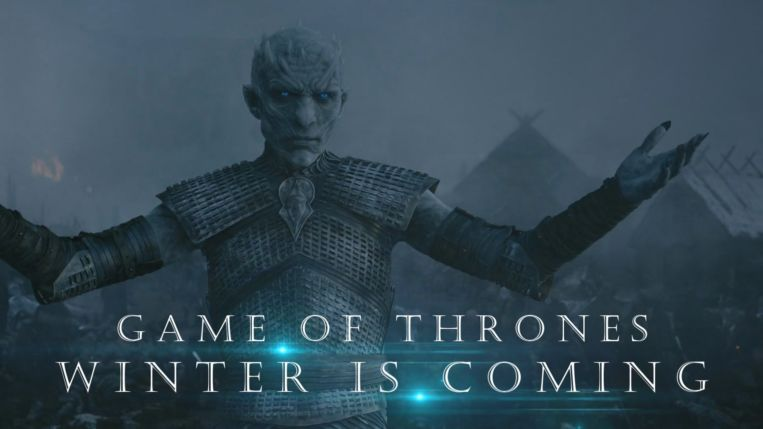 Juego de Tronos Winter is Coming