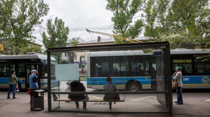 contaminación y transporte público