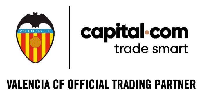 Foto de Capital.com, nuevo patrocinador del Valencia C.F.