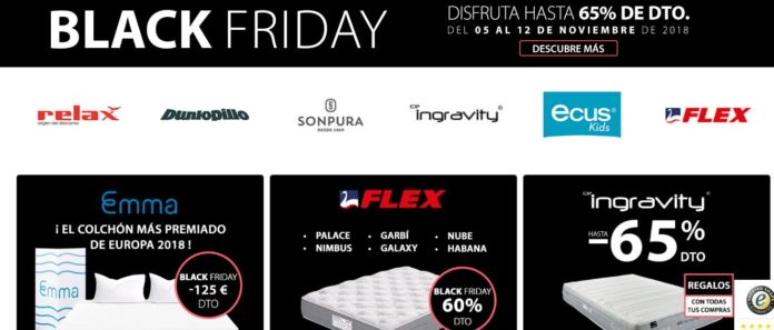 Foto de Colchón Exprés Black Friday