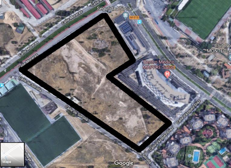 Majadahonda tiene espacio para 3.300 viviendas más.