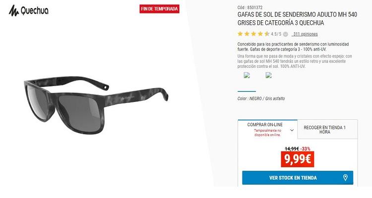 Decathlon gafas de sol senderismo - Merca2.es ad906f20ba16