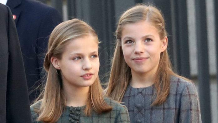 Leonor y Sofía Casa Real