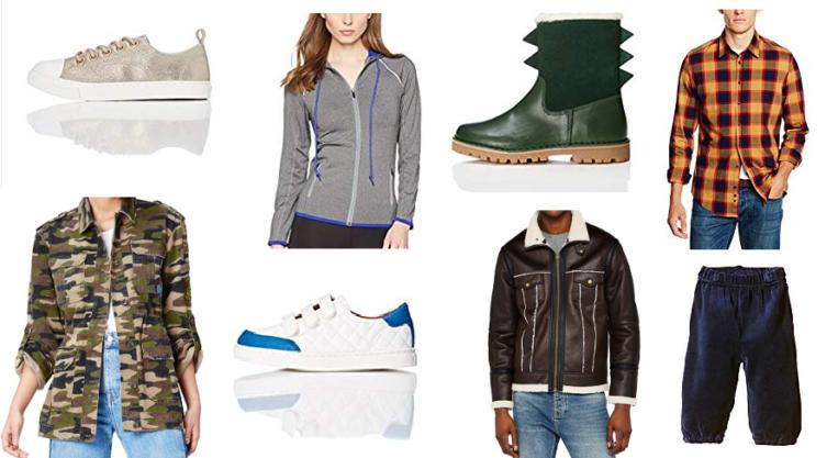 Las 10 mejores ofertas del outlet de ropa de Amazon Moda