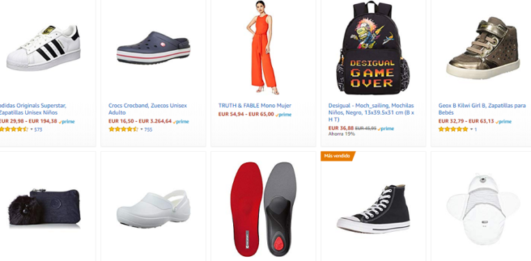 brand new 0f240 1ea1b Las 10 gangas del outlet de ropa de Amazon