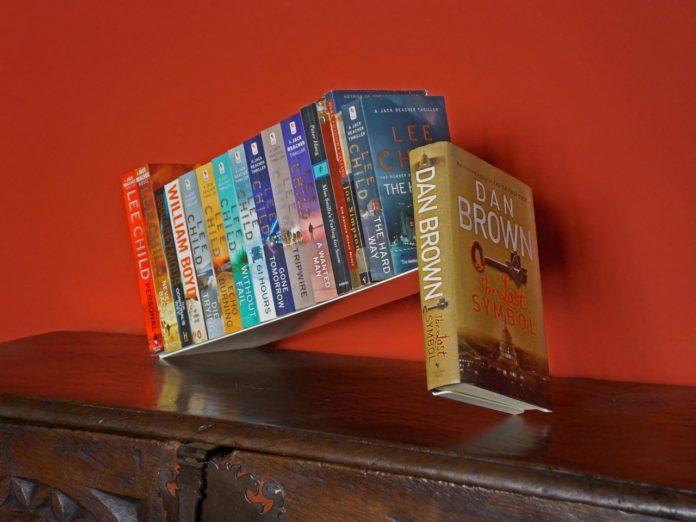 Foto de Una de las estanterías diseñadas por Bergne