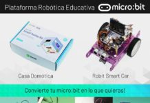 Foto de BBC micro: bit se ha convertido en una plataforma robótica