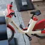 Así son las bicicletas compartidas que nunca llegaron al Wanda Metropolitano