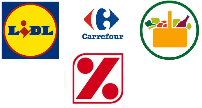 Mercadona DIA Carrefour