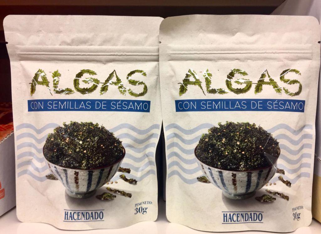 Algas con sesamo Mercadona
