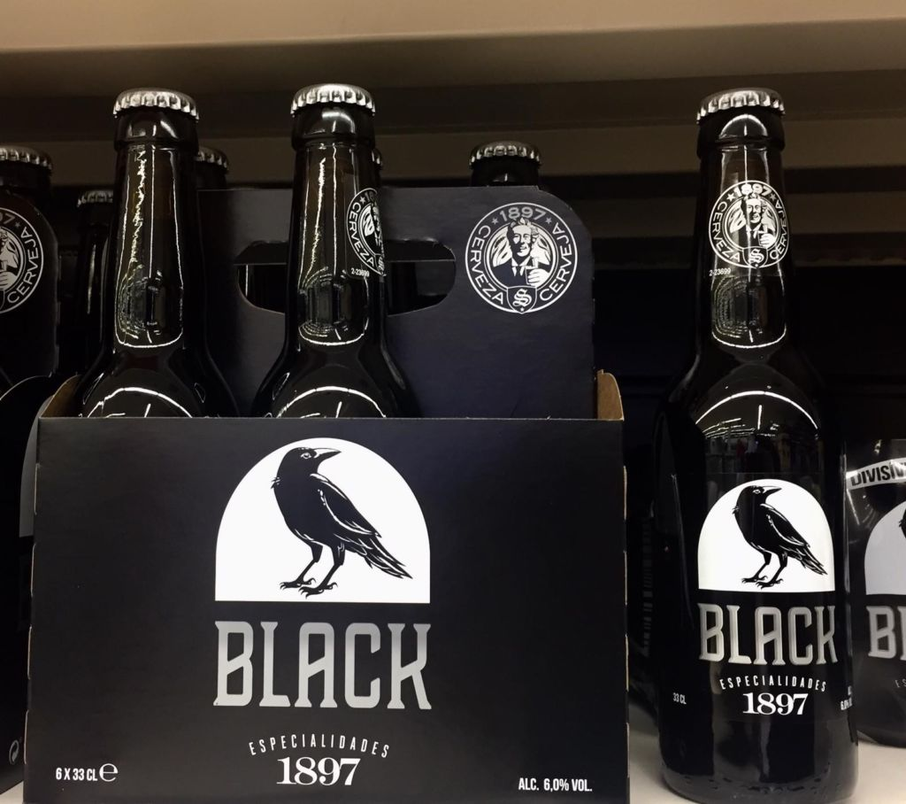 Mercadona cerveza Black