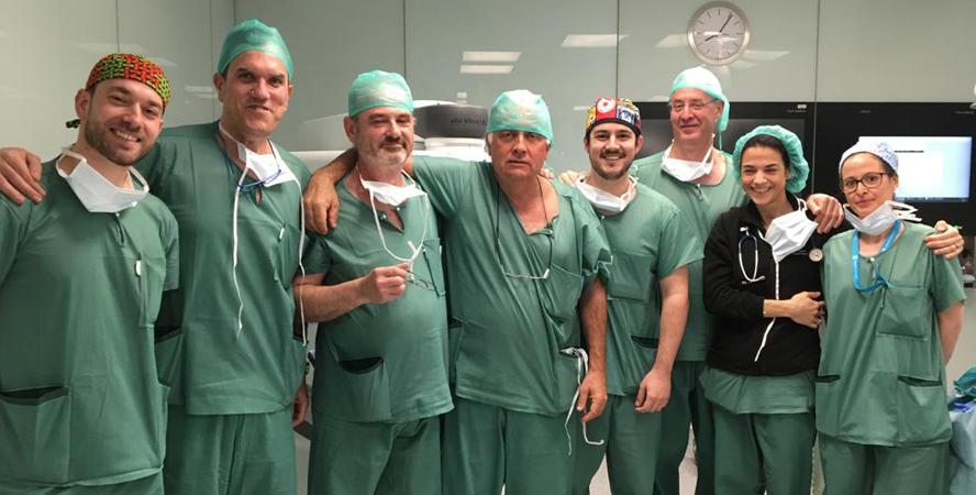 operación robótica de próstata tiempo de hospitalización