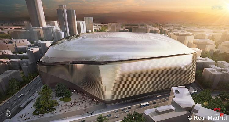 Renovación estadio Bernabéu