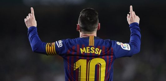 Lionel Messi sexta Bota de Oro