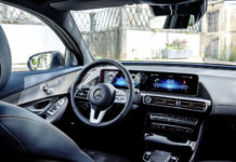 Mercedes-Benz EQC interior