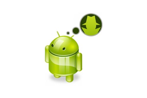Andy, logo de Android, espía