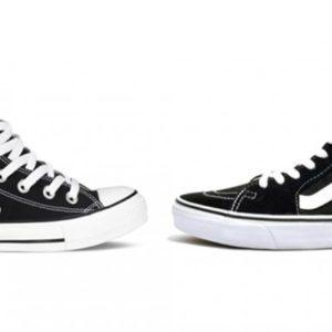 Comparativa entre zapatillas Converse y Vans