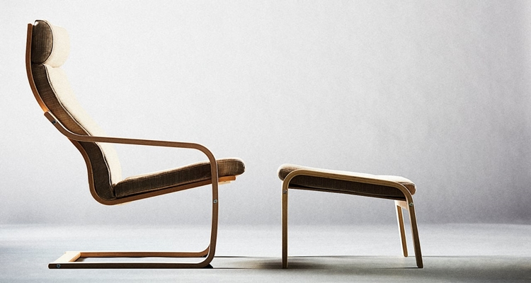 Moderno sillón Ikea Poang chair