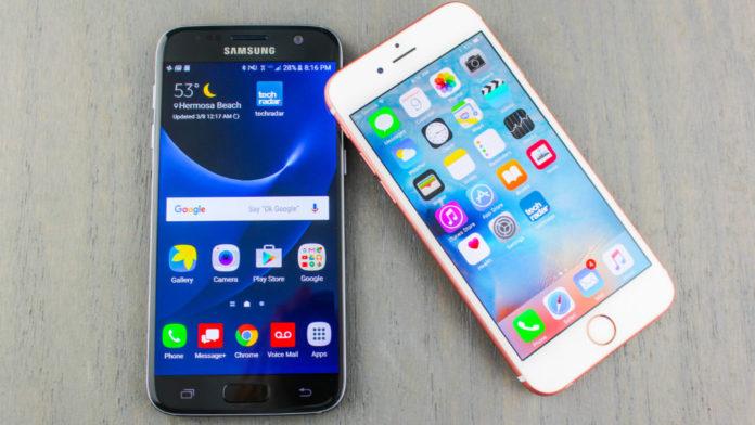 Samsung Galaxy o Iphone