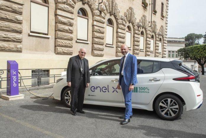 Enel llega al Vaticano
