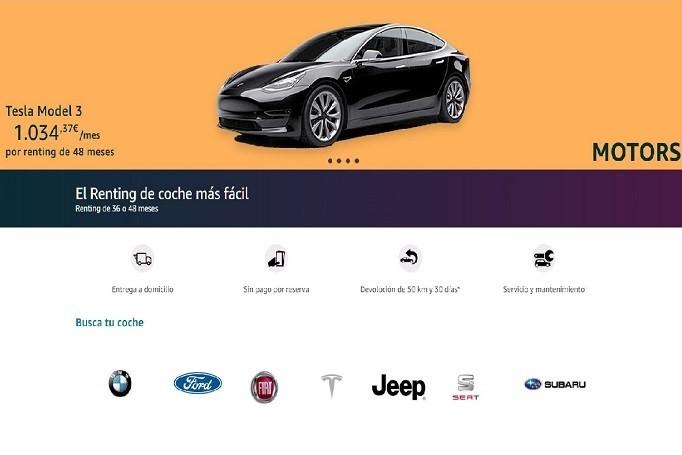 Amazon renting vehiculos