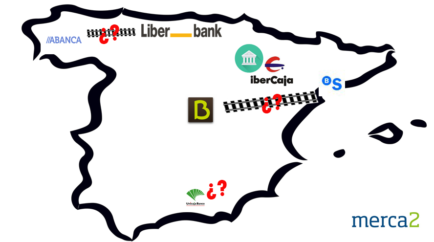 Fusiones bancos españoles