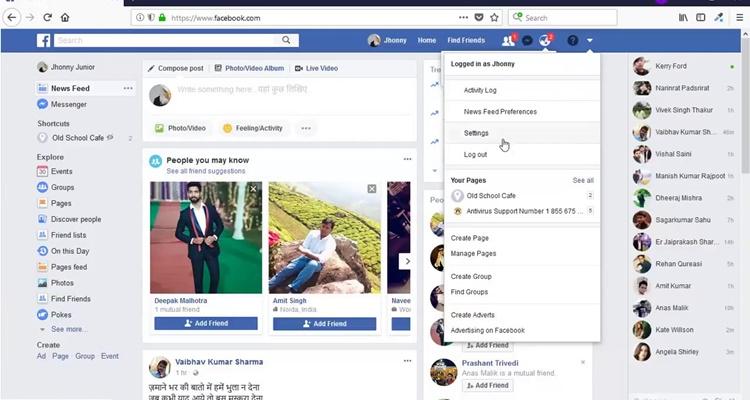 La responsabilidad de Facebook