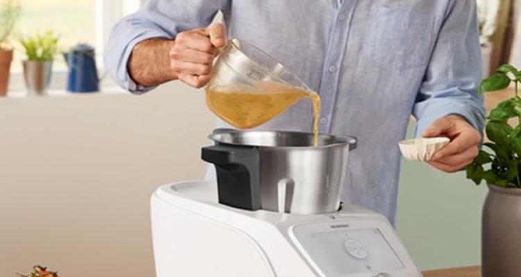 Lidl robot de cocina con tablet incorporada