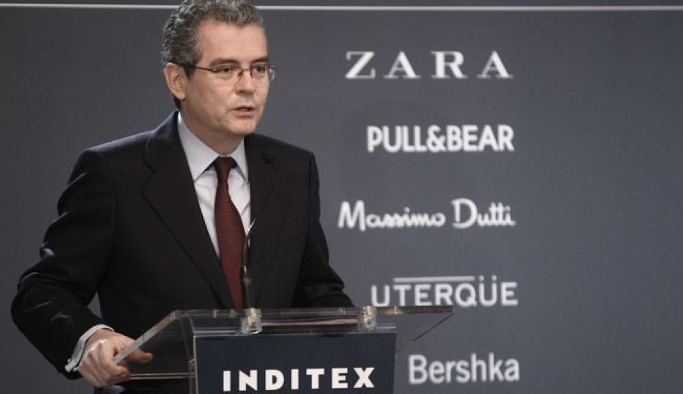 Pablo Isla, presidente de Inditex dentro del equipo pais