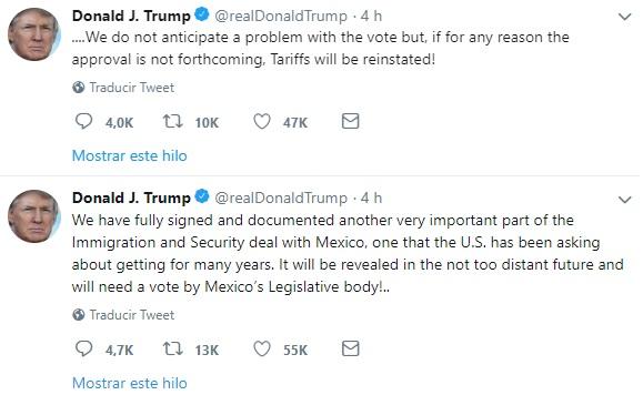 Trump México BBVA 2