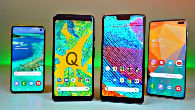Móviles con Android Q
