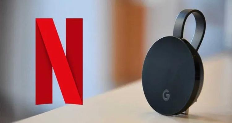 Usa Netflix con ChromeCast