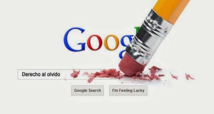 De qué trata el derecho al olvido Google