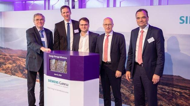 Siemens Gamesa almacenamiento energía