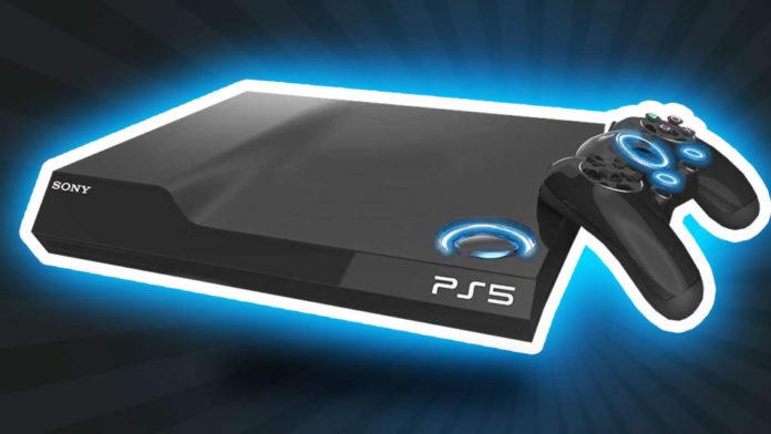 Render de la Sony PS5