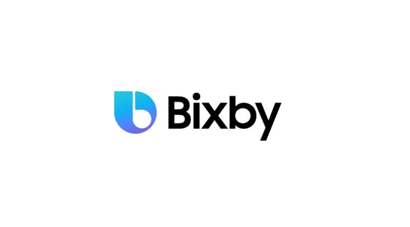 Logo de Samsung Bixby, diferente a Siri