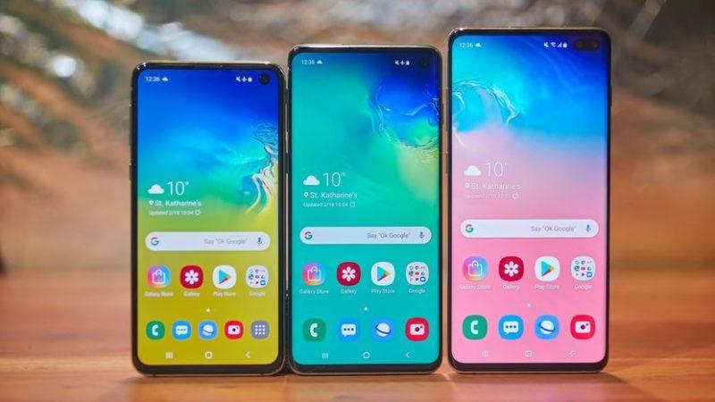 Samsung Galaxy S10, PLUS y E