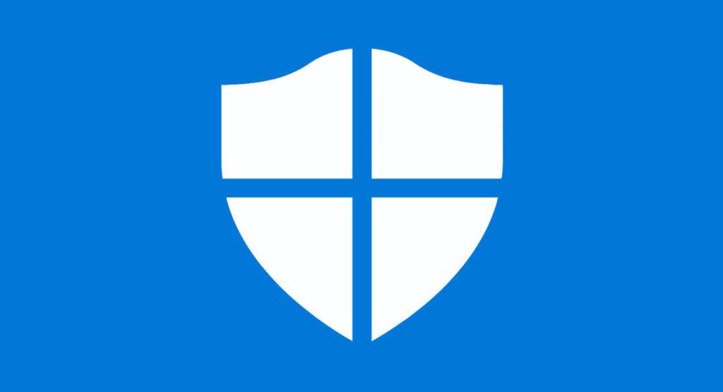 Logo de Windows Defender antivirus