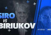 Conversaciones Endesa, Siro López y Biriukov