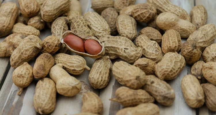 Las legumbres que mas engordan los cacahuetes