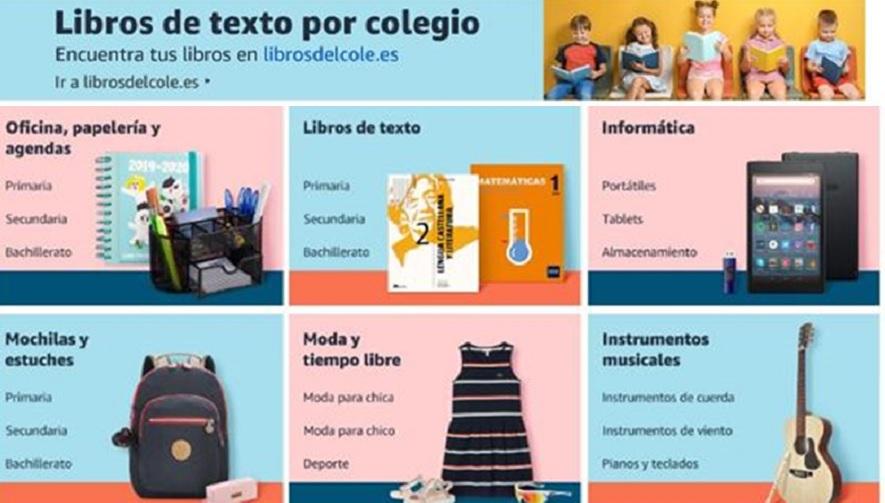 Amazon: Las mejores ofertas en material escolar y uniformes de la tienda Vuelta al Cole