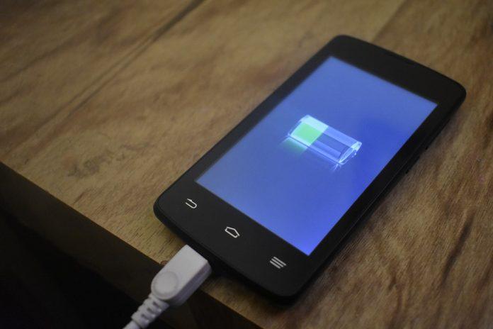 Android cargando la batería