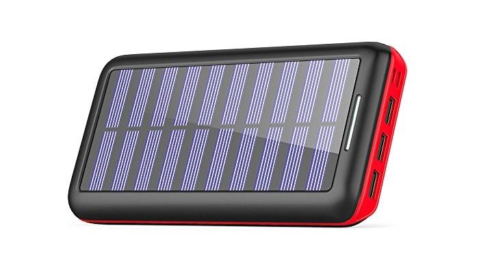 Baterías solares para móvil