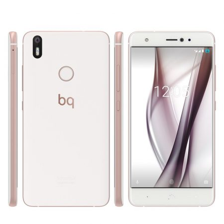 Bq Aquaris X con Android que parece iPhone